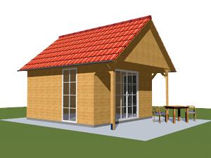 ferienhaus und freizeithaus aus holz vom garnuka carportwerk ferien freizeith user. Black Bedroom Furniture Sets. Home Design Ideas