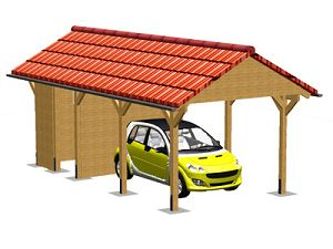 carports carport carporte vom garnuka carportwerk. Black Bedroom Furniture Sets. Home Design Ideas