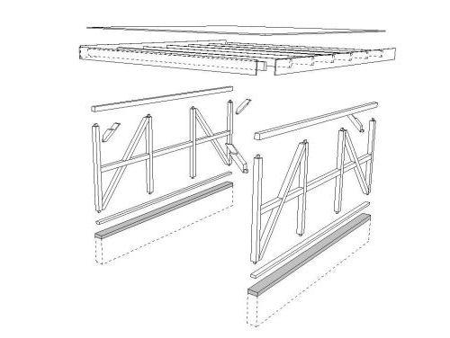 Carports carport carporte vom garnuka carportwerk for Was ist fachwerk